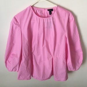MOSSIMO PINK COTTON BLOUSE